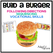 Teach your students to follow instructions and directions while working on visual memory, visual discrimination, sequencing and motor planning at the same time! This set works on so many skills at once! Often times our students with special needs have a difficult time following verbal directions.